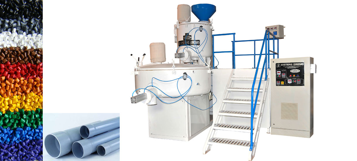 High Speed Mixer & Cold Blender (Turbo)